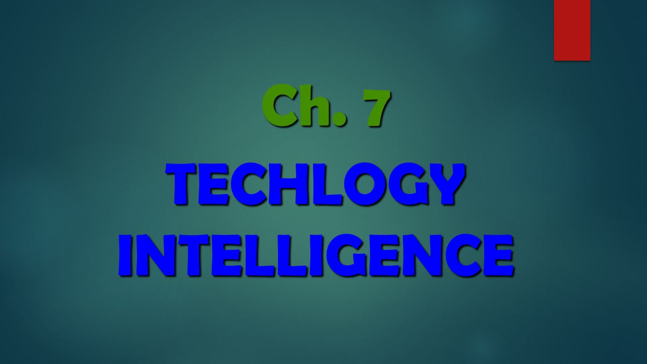 (T) Technical Intelligence Market Intelligence (M)