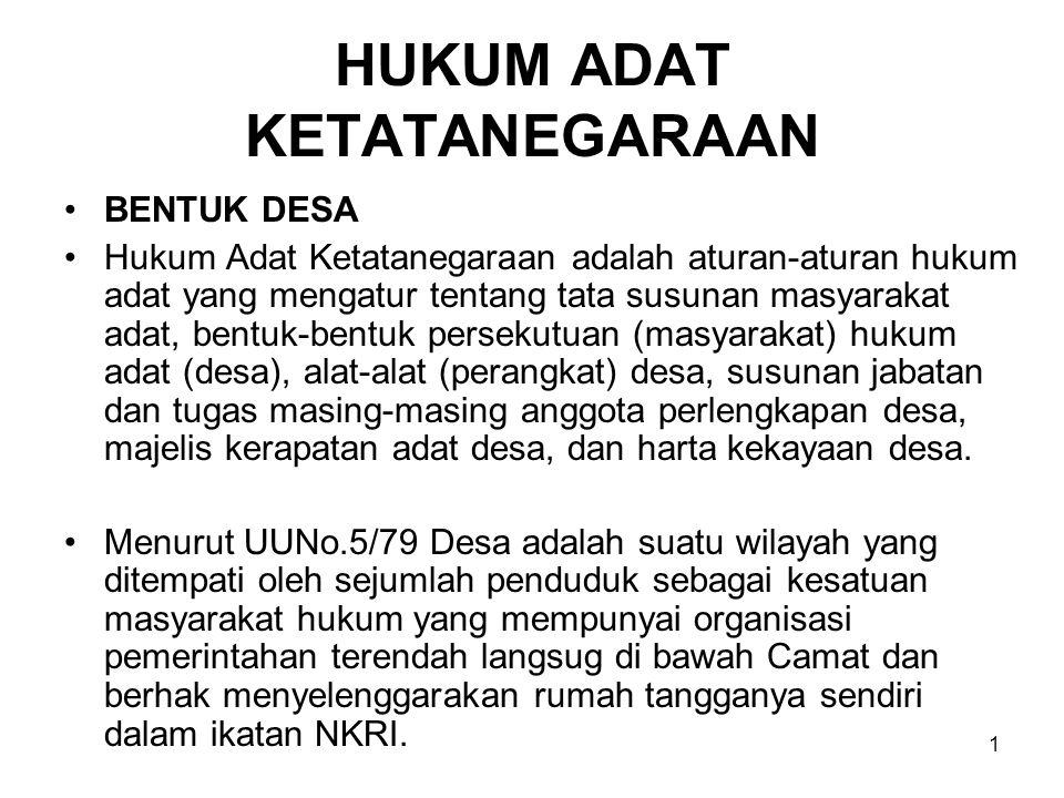 2 Dusun adalah bagian wilayah dalam Desa yang merupakan lingkunhan kerja pelaksanaan pemerintahan desa.