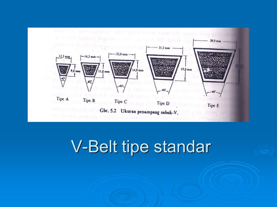V-Belt tipe standar