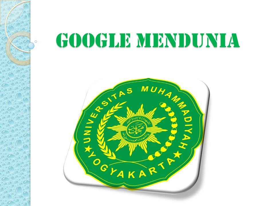 GOOGLE MENDUNIA