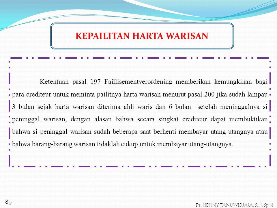 Pasal 1031 BW menyatakan bahwa seseorang kehilangan hak untuk menerima tanpa syarat apabila : Iktikad (te kwader trouw) ia tidak menyebutkan beberapa