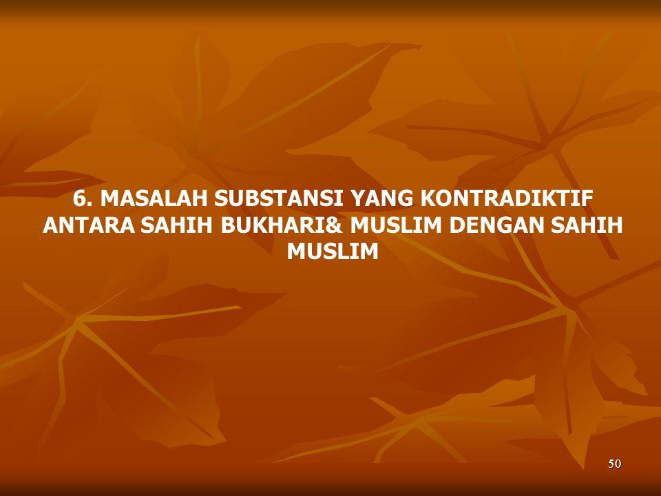 51 SAHIH BUKHARI & MUSLIM