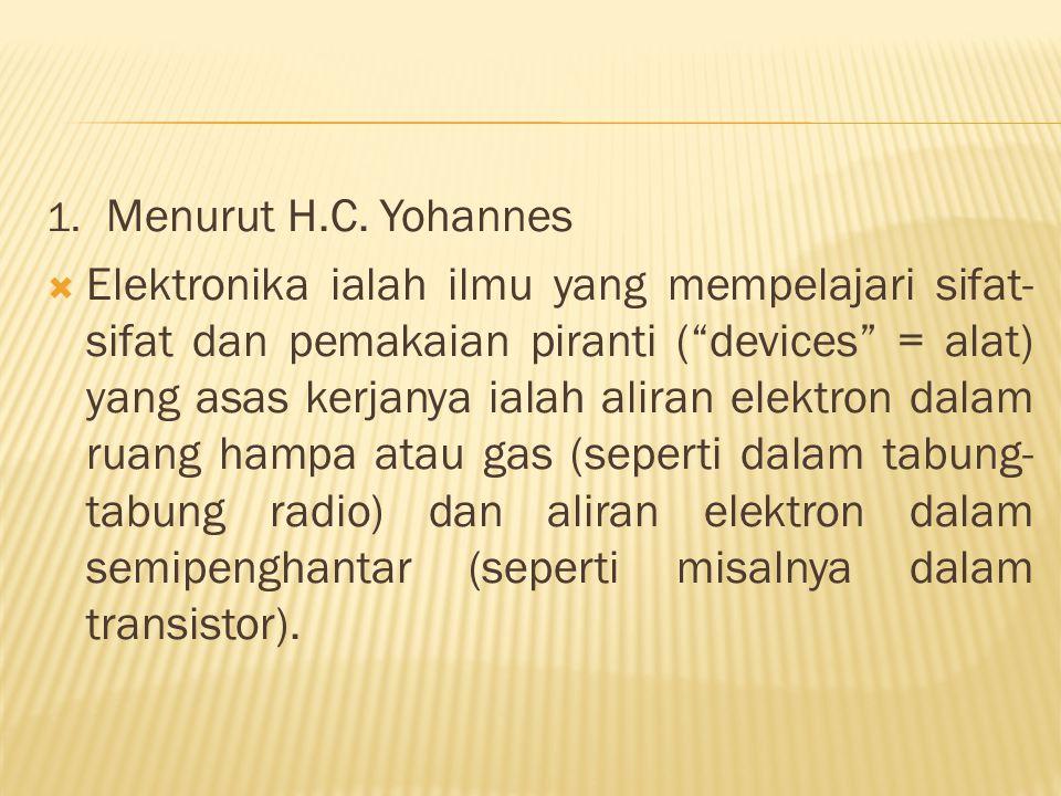 1. Menurut H.C.