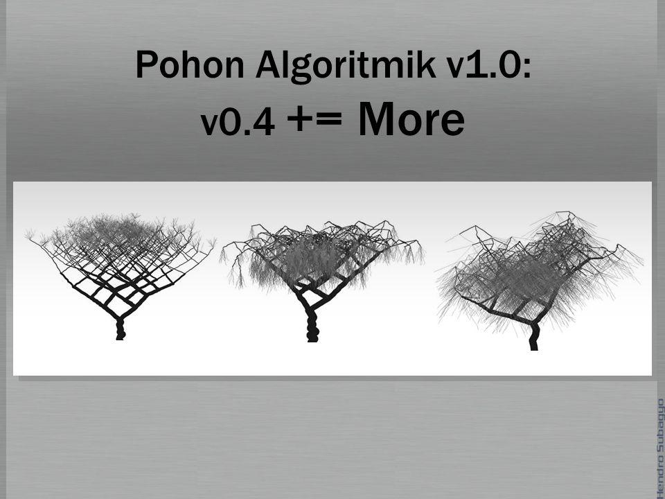 Pohon Algoritmik v1.0: v0.4 += More