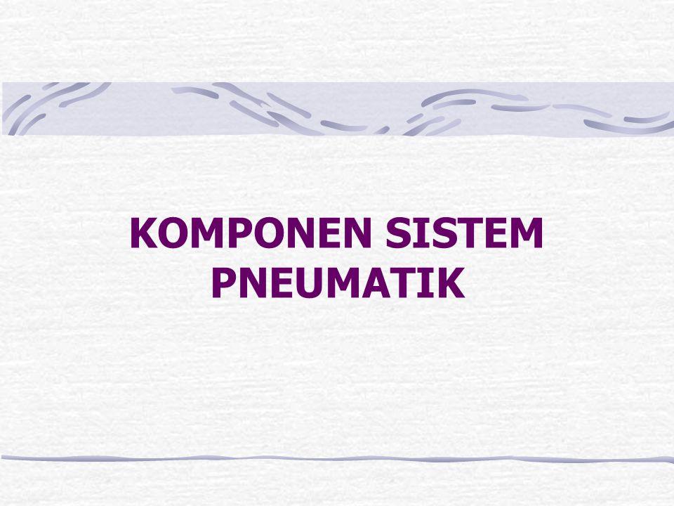 Sistem Tekanan Rendah. Tekanan udara rendah didapatkan dari pompa udara tipe Vane. Demikian pompa udara mengeluarkan tekanan udara secara kontinu deng