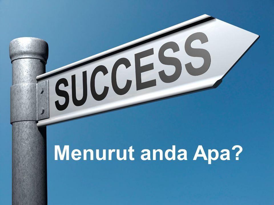 Proses Proses Menuju Sukses