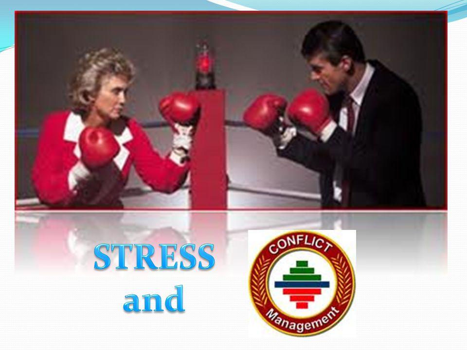 Stres dan Konflik Pada sessi ini mahasiswa mengetahui berbagai definisi tentang stres dan konflik.