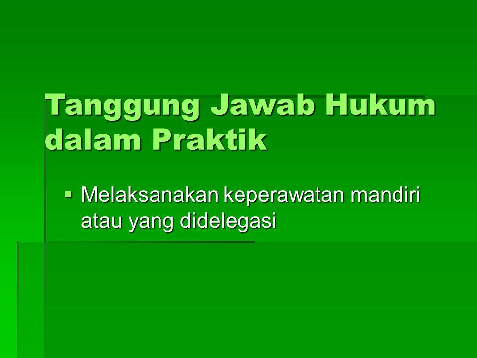 Konsil Keperawatan Indonesia (draft)  Dalam rangka Pengaturan Penyelenggaraan Praktik Keperawatan Maka dibentuk Konsil Keperawatan Indonesia.