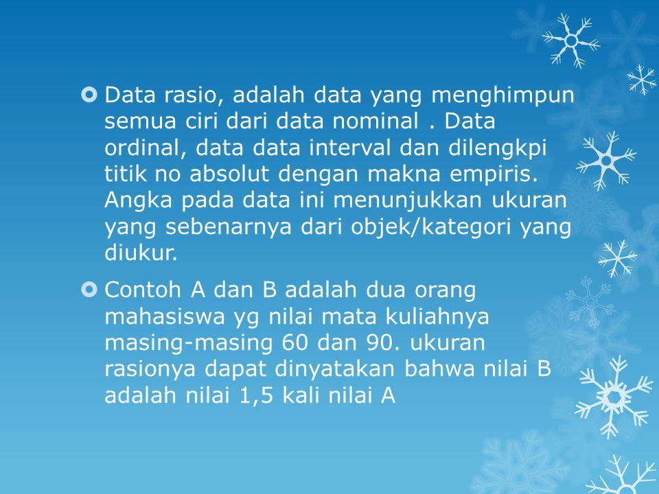 Perlakuan data  Perlakuan data dimaksudkan sebagai cara memproses data penelitian untuk memperoleh hasil yang diinginkan berdasarkan pola-pola dan aturan aturan tertentu.