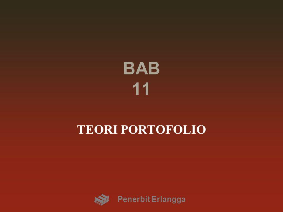 BAB 11 TEORI PORTOFOLIO Penerbit Erlangga