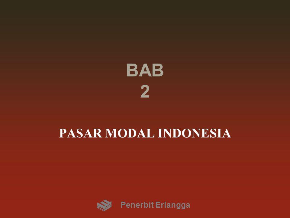 BAB 2 PASAR MODAL INDONESIA Penerbit Erlangga