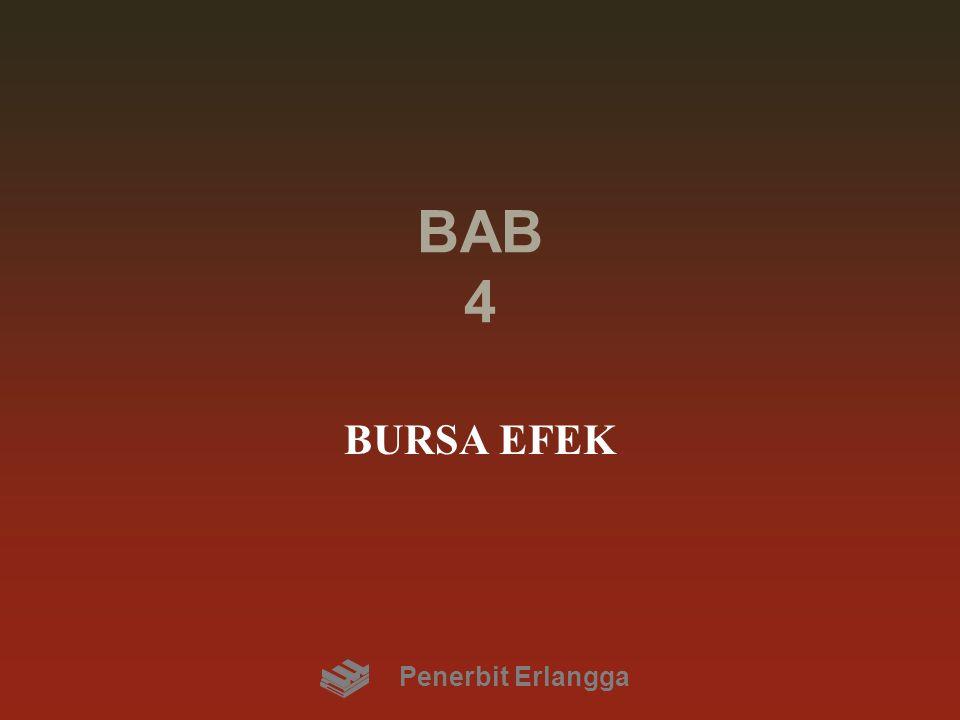 BAB 4 BURSA EFEK Penerbit Erlangga