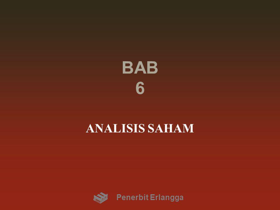 BAB 6 ANALISIS SAHAM Penerbit Erlangga