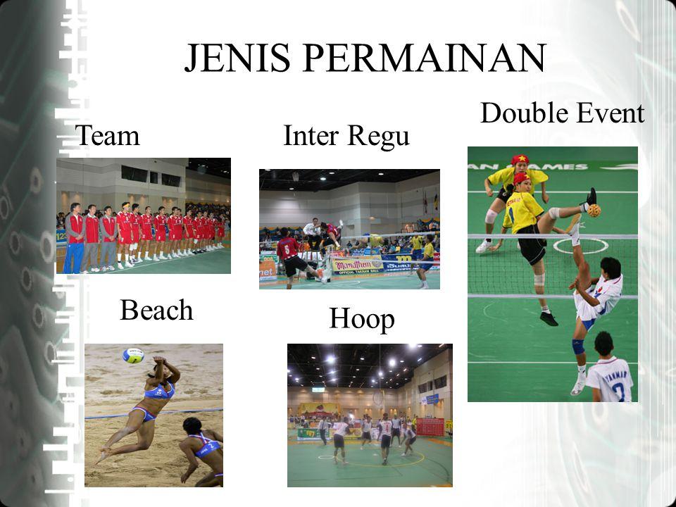 JENIS PERMAINAN TeamInter Regu Double Event Beach Hoop