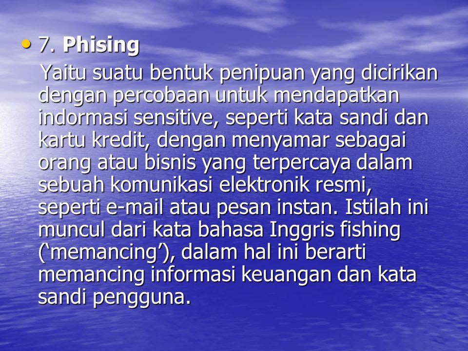 7.Phising 7.