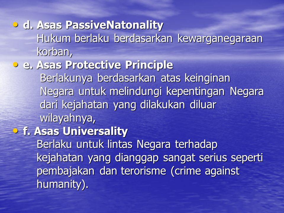 d.Asas PassiveNatonality d.