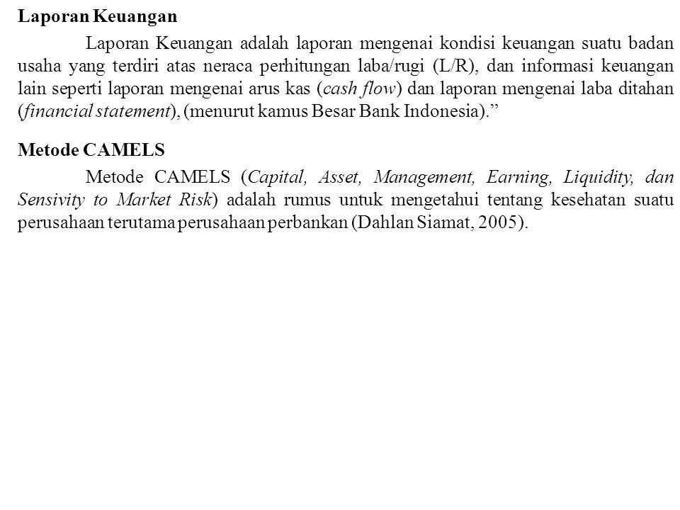 Laporan Keuangan Laporan Keuangan adalah laporan mengenai kondisi keuangan suatu badan usaha yang terdiri atas neraca perhitungan laba/rugi (L/R), dan