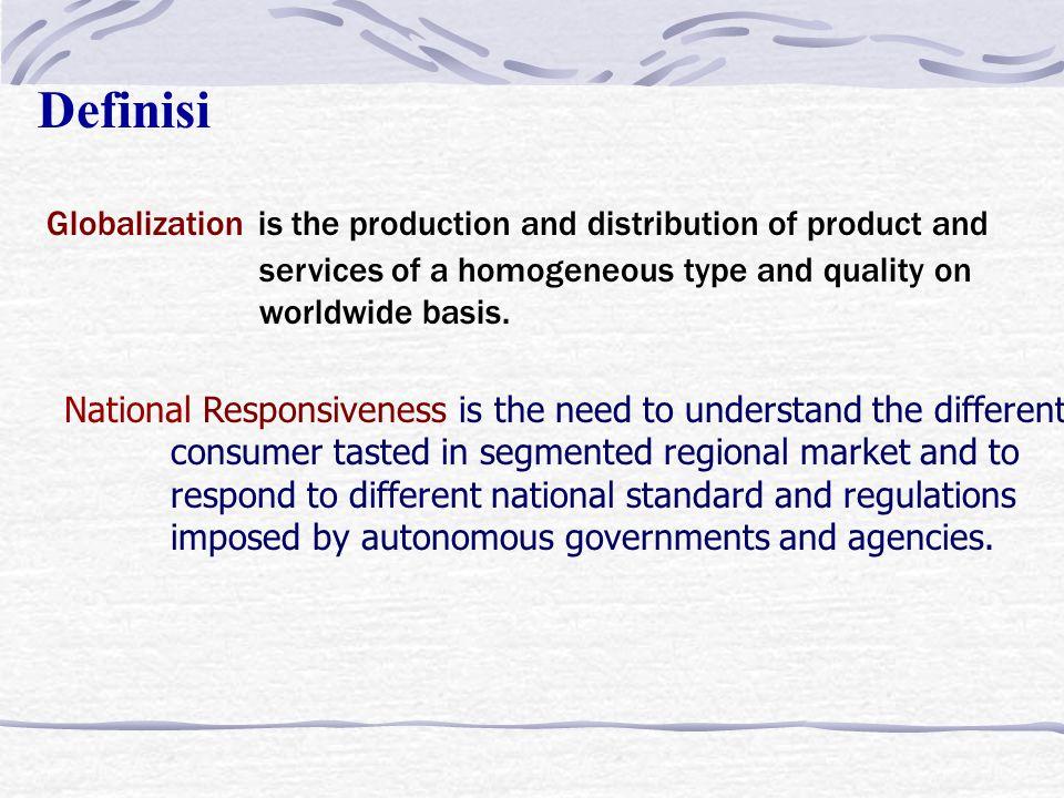 BAB. IV MANAGING ACROSS CULTURE Tujuan Bahasan 1. Membahas pengaruh globalisasi dan national responsivenes terhadap strategi manajemen internasional.