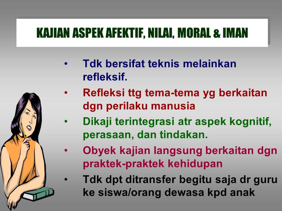 Remaja di Jawa: 1.Penal. Moral pada tahap 3 (good boy-nice girl) 2.