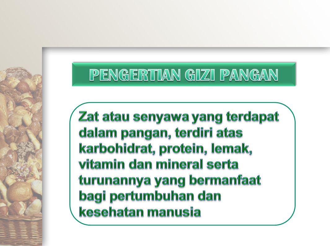 Contoh:  Tempe (50 gram)  Telur (54 gram)  Daging sapi (50 gram) Dikatakan bahwa tempe lebih bergizi dari telur, .