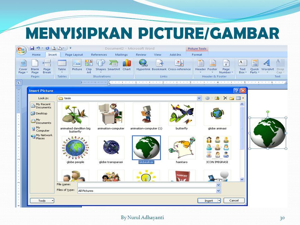 30By Nurul Adhayanti