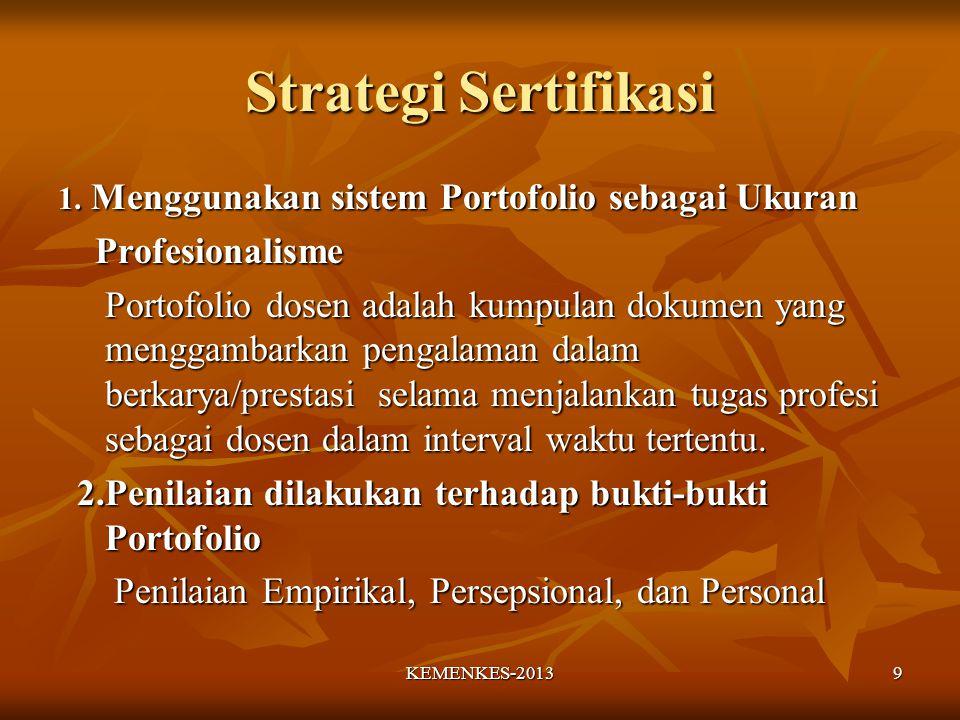 Strategi Sertifikasi 1.