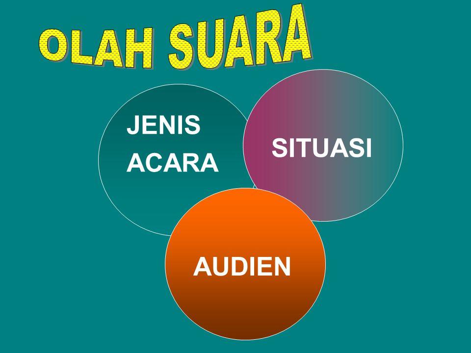OLAH BAHASA & SASTRA OLAH RAGA & BUSANA OLAH SUARA