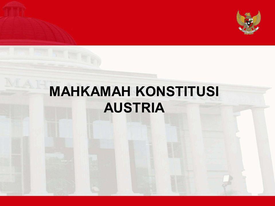 MAHKAMAH KONSTITUSI AUSTRIA
