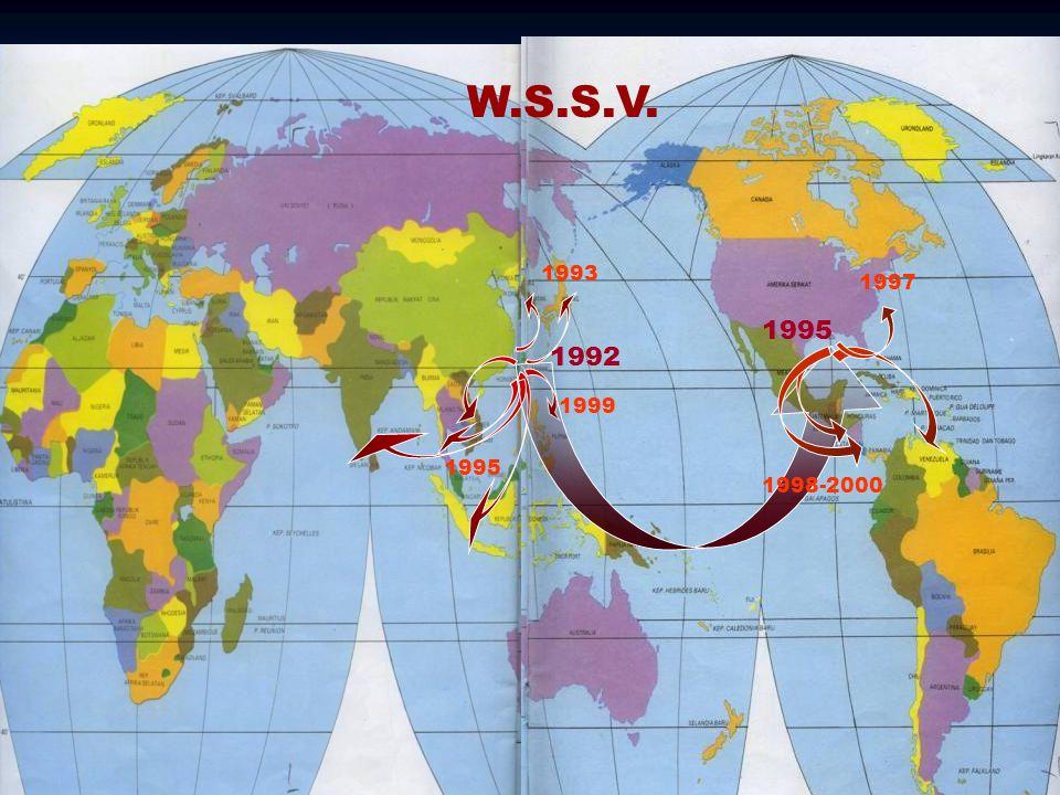 26 1992 1993 1995 1999 W.S.S.V. 1995 1998-2000 1997