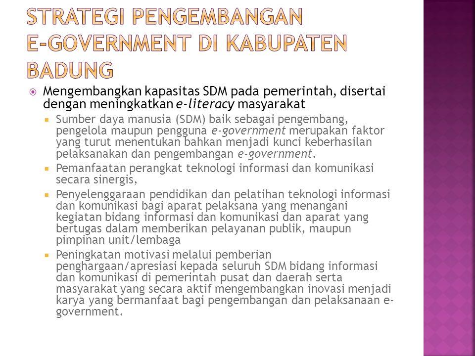  Tingkat 1 -Persiapan yang meliputi :  Pembuatan situs informasi disetiap lembaga;  Penyiapan SDM;  Penyiapan sarana akses;  Sosialisasi situs informasi baik untuk internal maupun untuk publik.