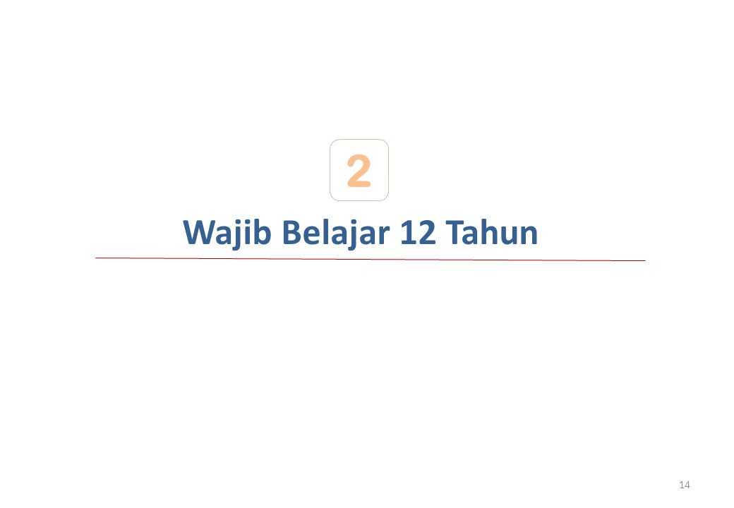 Wajib Belajar 12 Tahun 2 14