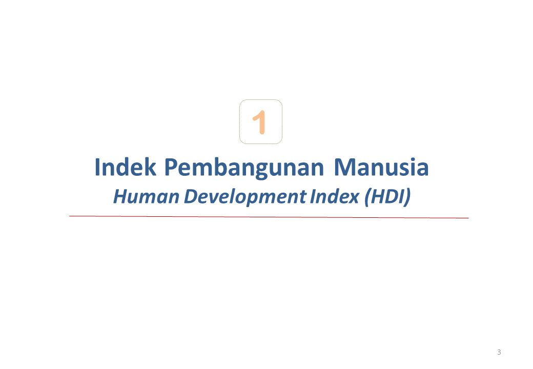 Penjelasan UNDP mengenai Human Development Report 2011 It is misleading to compare values and rankings with those of previously published reports, because the underlying data and methods have changed, as well as the number of countries included in the HDI. The rank of Indonesia's HDI for 2010 based on data available in 2011 and methods used in 2011 is 125 out of 187 countries.