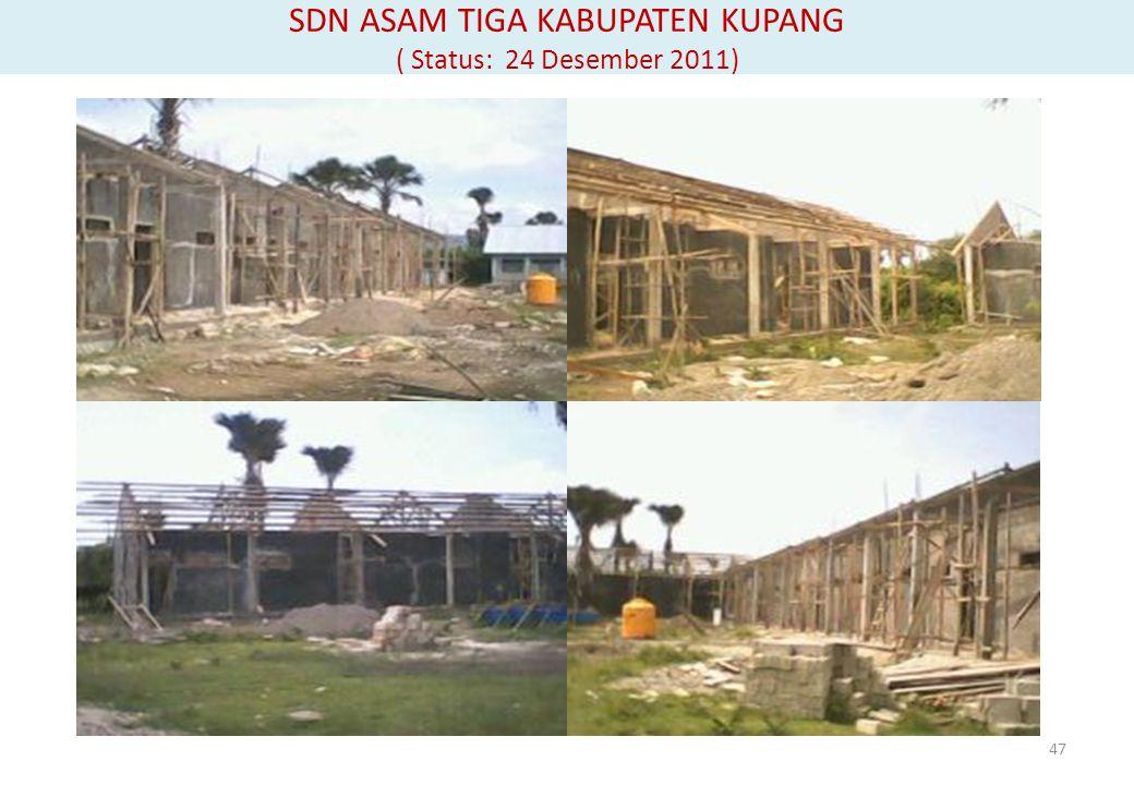 SDN ASAM TIGA KABUPATEN KUPANG ( Status: 24 Desember 2011) 47