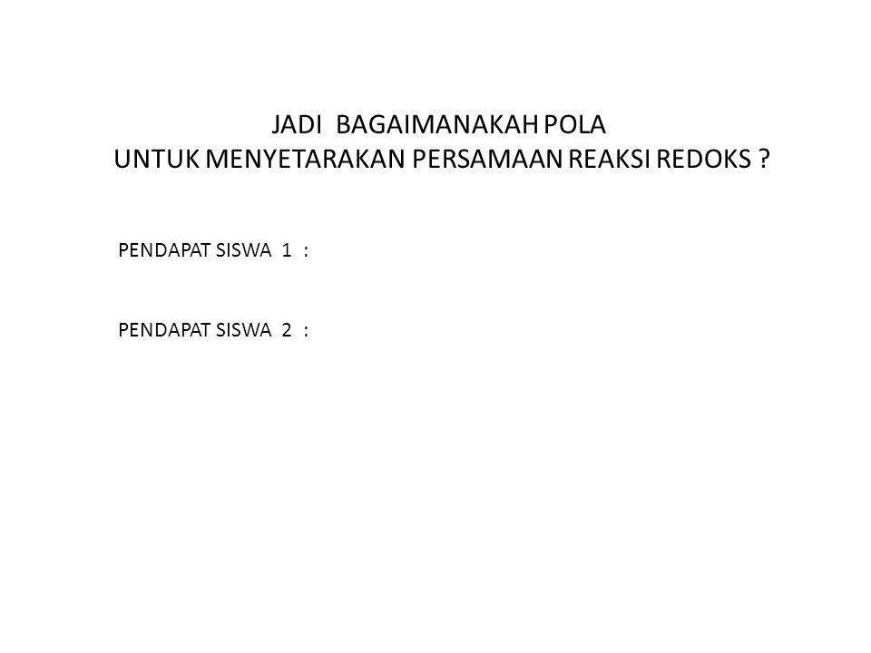 LKS-3 KMnO 4 + 2FeSO 4  MnSO 4 + Setarakan Reaksi Redoks berikut Langkah 1 Langkah 2 KMnO 4 + FeSO 4  MnSO 4 + Fe 2 (SO 4 ) 3 + K 2 SO 4 + H 2 SO 4 + H 2 O KMnO 4 + FeSO 4 + H 2 SO 4  MnSO 4 + Fe 2 (SO 4 ) 3 + K 2 SO 4 + H 2 O Fe 2 (SO 4 ) 3
