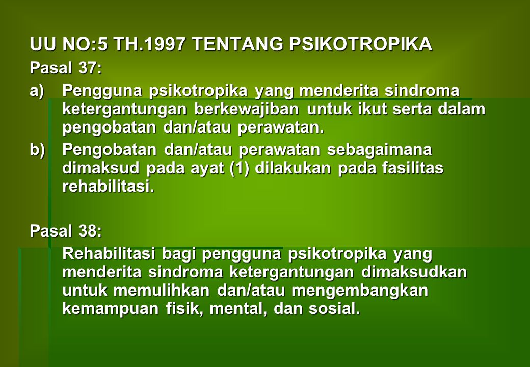 IPAL 31 1 33 2 5 28 18 23 24 8 7 12 13 14 199 10 11 17 4 6 5 20 22 25 26 27 29 30 15 16 LAPANGAN SEPAK BOLA KETERANGAN : 1.POLIKLINIK 2.UNIT GAWAT DARURAT 3.LOKET PENDAFTARAN / REKAM MEDIK 4.KASSA PEMBAYARAN – POLIKLINIK GIGI 5.APOTIK / FARMASI 6.LABORTORIUM 7.BANGSAL KLAS PUTRA 8.BANGSAL KLAS PUTRI 9.BANSAL KLAS II + IV PUTRA L2 10.BANGSAL KLAS III PUTRA L2A 11.BANGSAL KLAS IV PUTRA L1 12.BANGSAL KLAS IV PUTRI P1 13.BANGSAL KLAS III PUTRI P2A 14.BANGSAL KLAS II-IV PUTRI P2 15.GD REHABILITASI 16.KAMAR MAYAT 17.GD THERAPI 18.KANTOR KEPEGAWAIAN 19.INSTALASI GIZI 20.IPSRS 21.GARASI 22.LAUNDRY 23.GD REHAB MEDIS NAPZA 24.LAP.