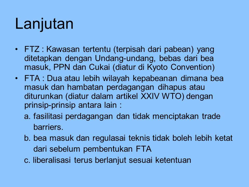 Potensi Kerawanan Berbagai jenis barang akan masuk ke Sabang dan potensi untuk merembes atau diselundupkan ke daerah pabean Indonesia lainnya Aparat Bea dan Cukai harus memadai dalam melaksanakan tugas