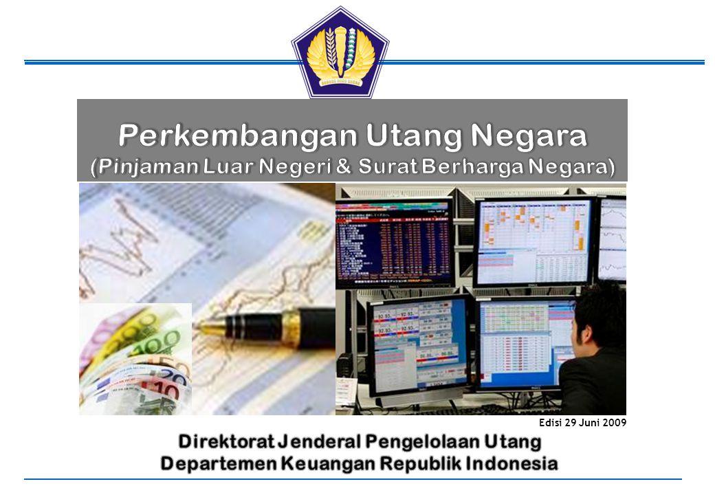 Departemen Keuangan – Republik Indonesia Daftar Isi Bagian 1 Latar Belakang, Tujuan & Kebijakan Utang, Jenis-jenis Utang, Landasan Hukum 1.