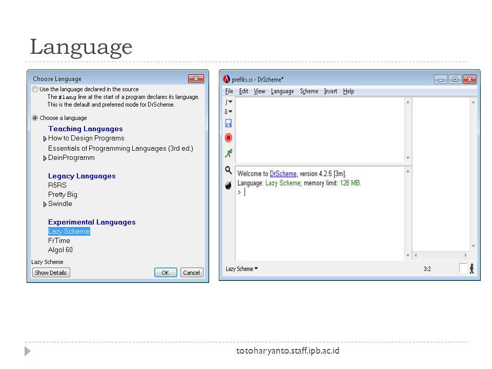 Language totoharyanto.staff.ipb.ac.id