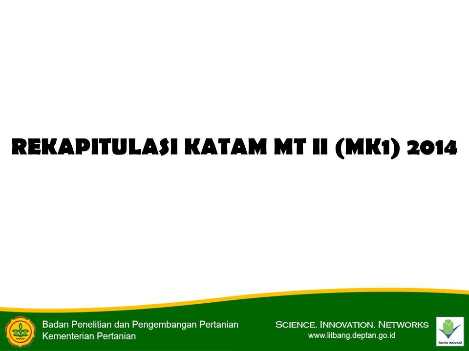 REKAPITULASI KATAM MT II (MK1) 2014