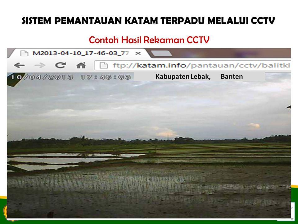 Contoh Hasil Rekaman CCTV SISTEM PEMANTAUAN KATAM TERPADU MELALUI CCTV