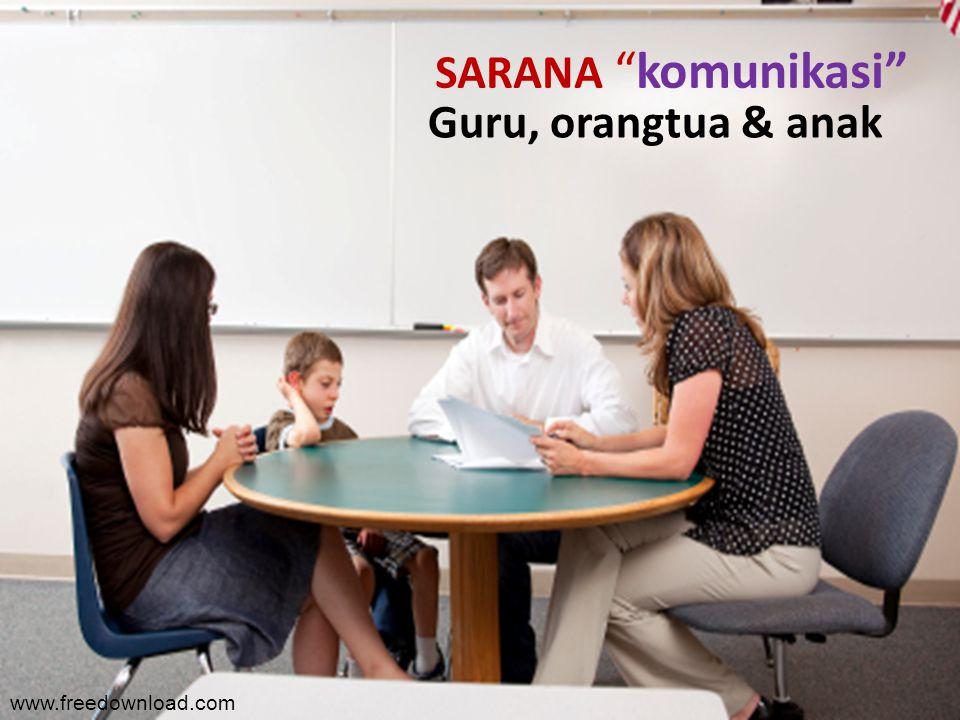 Guru, orangtua & anak SARANA komunikasi www.freedownload.com