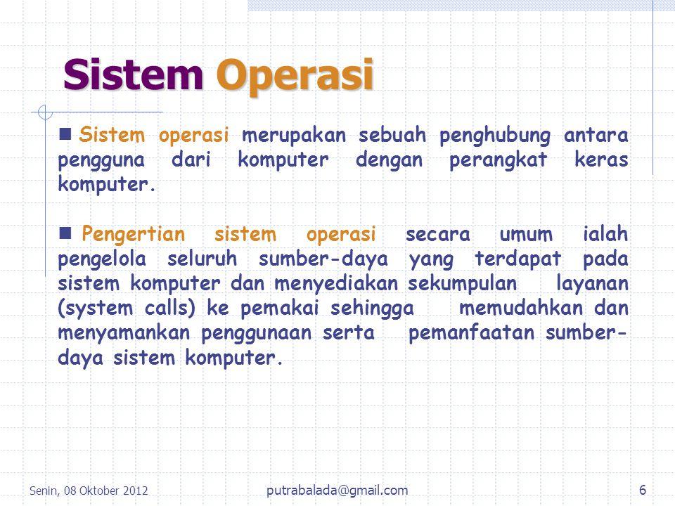 Dan Masih Banyak Lagi Operating System Yang Tidak Bisa Disebutkan Satu Persatu Disini.