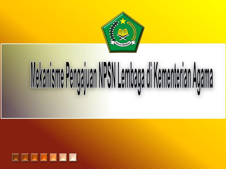 Pengertian NPSN NPSN (Nomor Pokok Sekolah Nasional) adalah standar kode pengenal yang unik untuk satuan pendidikan (sekolah/madrasah) yang dikeluarkan oleh PDSP.