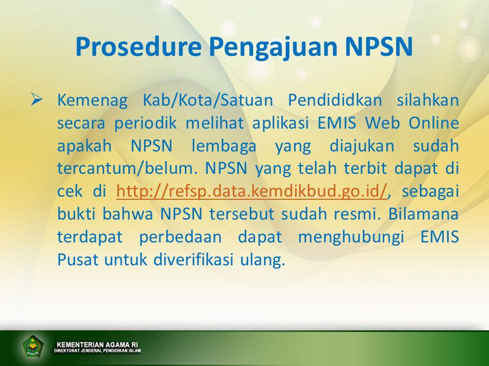 Cara melihat/cek NPSN di PDSP Kemendikbud  Masuk ke Website NPSN dengan alamat http:www//refsp.data.kemendikbud.go.id.