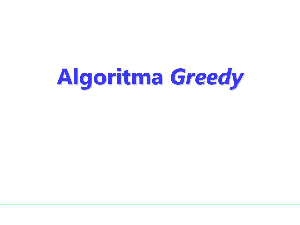 Ide algoritma Greedy: Setiap edge dapat ditambahkan sepanjang tidak membentuk cycle.