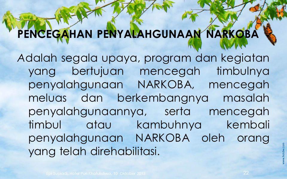  Seseorang yang secara psikologis tergantung pada NARKOBA akan 'merasa' bahwa mereka memerlukannya agar dapat berfungsi normal – Perilaku mencari NAR