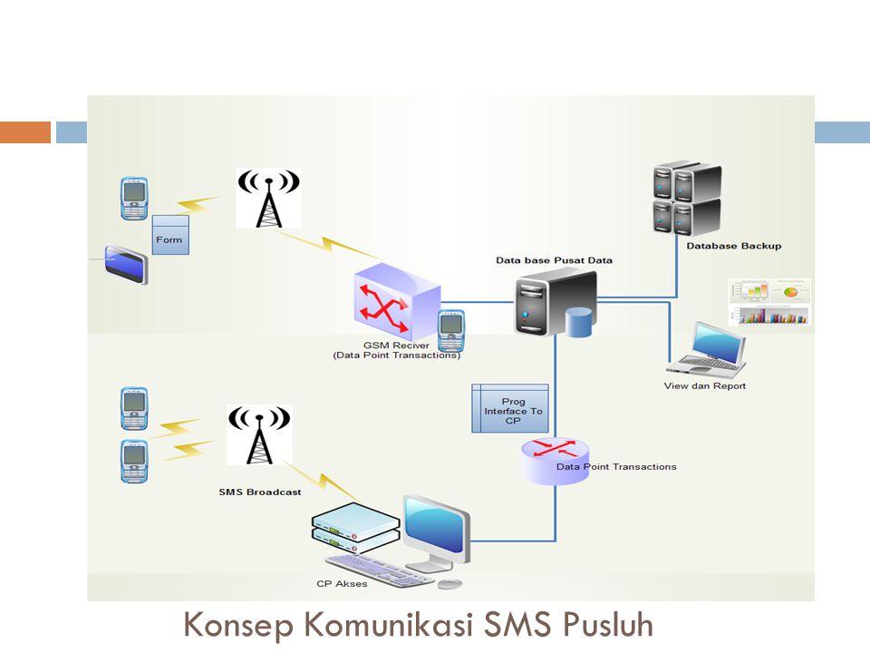 Konsep Komunikasi SMS Pusluh