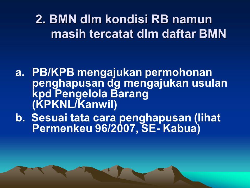b.BMN selain tanah Memp.