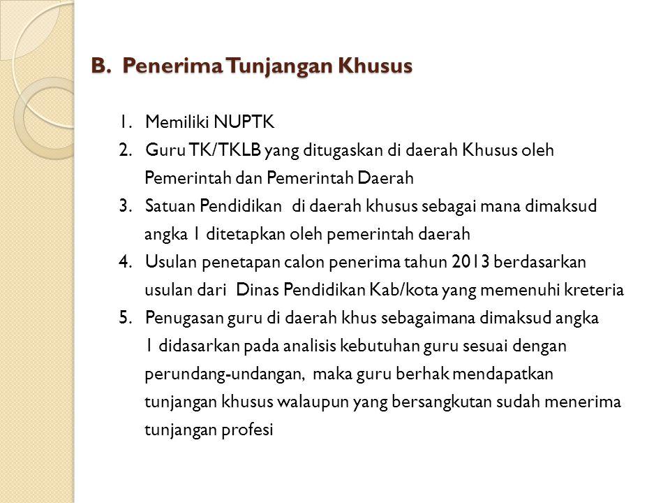 VII.PENGHENTIAN PEMBERIAN TUNJANGAN A. Penghentian Tunjangan Profesi 1.