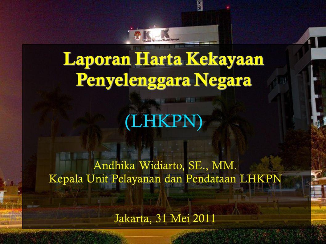 Jujur, Terbuka & Tanggung Jawab Penyediaan sarana kontrol masyarakat Pendeteksian dini dalam pencegahan korupsi Data Base HRD